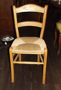 Stuhl, massiv Esche, Worpsweder Geflecht