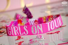 Hen Party Wristbands 'Girls on Tour' VIP Wristband Bracelets