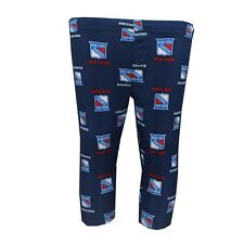 New York Rangers NHL Infant Toddler Size Print All Over Pajama Pants New Tags