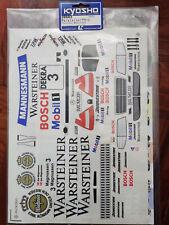 Kyosho 39683 Warsteiner pureten mercedes Decals sticker applique rc Toy models