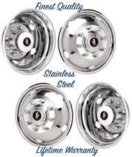 "19.5"" FORD F450 & F550 8 LUG 5 HOLE WHEEL SIMULATORS RIM LINER HUBCAP COVERS ©"