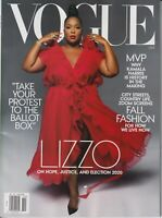 Vogue October 2020 Lizzo On Hope, Justice and Election 2020  (Magazine: Fashion)
