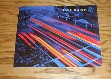 Original 2002 Buick Full Line Sales Brochure 02 Park Avenue LeSabre Century