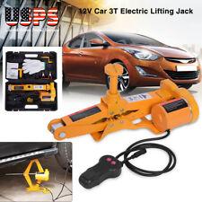 3Ton 6600LB Capacity Car Jack 12V Electric Automotive Car Floor Jack US SHIPPING