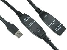 10m USB 3.0 Active Repeater Cable Male to Female Lead Extension
