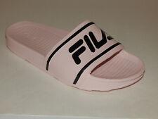 Fila Women's Sleek Slides / Sandal Shoe Dogwood Pink / Black E0128660 New