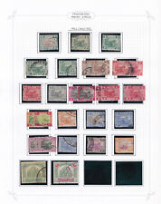 Federated Malay States. 1922-34, 1c to $2. Used selection.