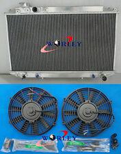 3 ROW Toyota Cressida MX83 1989-1993 1990 1991 1992 AT/MT Aluminum Radiator+FANS