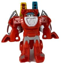 Transformer Toy Double Dragon Head Action Figure 15cm Tall Red Hasbro Tomy