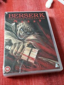 Berserk DVD Collection Dubbed And Subbed