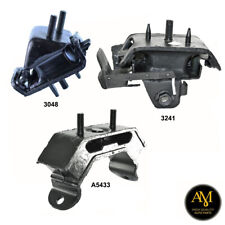 Front Right, Front Left Engine & Trans Mount Set 3PCS for Ford Explorer 4.6L