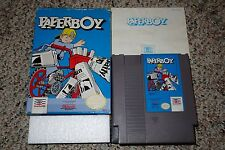 Paperboy 1 (Nintendo Entertainment System NES, 1988) Complete in Box A B GOOD