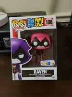 Funko Pop! Teen Titans Go! Raven #108 Toys R Us Exclusive