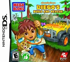 Mega Blok's --  DIEGO's BUILD AND RESCUE DS