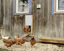Automatische Hühnertür elektrische Hühnerklappe Hühnerstall Stallöffner Huhn