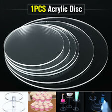 3mm Acrylic Plastic Discs 100-350mm Extruded Round Sheet Clear Circle