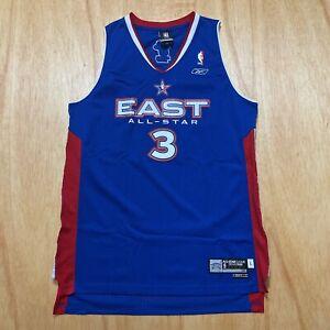 100% Authentic Dwyane Wade 2005 NBA All Star Swingman Jersey Size L Mens