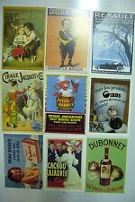 LOT  DE  CARTES  POSTALES  PUB