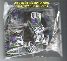 25 Purple Blue Butterfly Bush Labeled Favors Made 4 Ur Special Event Party