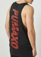 NWT PUMA X XO Mens The Weekend Black Tank Top Shirt Futura NEW $65 TL36043