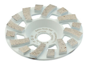 TRONGAARD PREMIUM DIAMANT SCHLEIFTELLER / SCHLEIFTOPF 125MM / 22mm BETON #606