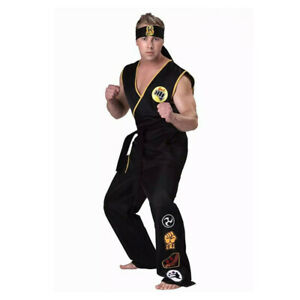 Cobra Kai: the Karate Kid Saga Cosplay Costume Halloween party uniform set