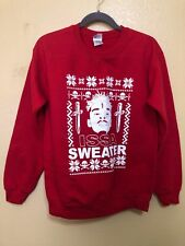 Gildan Men's Heavy Blend Crewneck Sweatshirt ISSA Sweater- Small Red NWOT