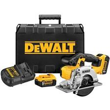 NEW DEWALT 20-Volt Max Cordless Metal Cutting Circular Saw Kit  DCS373P2 DCS373