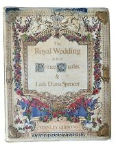 Vintage Royal Wedding Book Of Stamps Prince Charles And Lady Diana Spencer