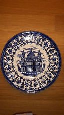 "Set x 6 St Paul's Cathedral London Broadhurst 7"" Plate Prince Charles Lady Diana"