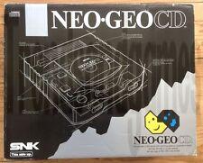 CONSOLE NEO GEO CD VERSION GUILLEMOT FRANCAISE COMPLETE EN BOITE NOTICE CIB BOX