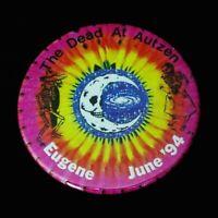 Grateful Dead Pin Oregon Ducks Autzen Eugene 1994 6/17,18,19/94 Pinback Badge