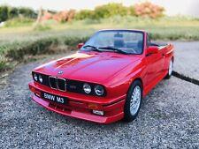 Otto Mobile 1:18 - BMW E30 M3 Cabriolet - OT077 LTD Otto Models @ 320i 325i
