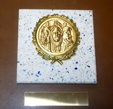 DRAMA- New Plaque Title AWARD-GIFT w/Gold Wreath + Insert FAST SHIP