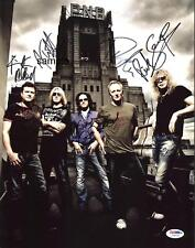 DEF LEPPARD 3 BAND REPRINT 8X10 AUTOGRAPHED SIGNED PHOTO PICTURE COLLECTIBLE RP