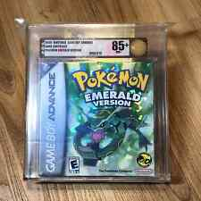 Pokemon Emerald Version Sealed New Gameboy Advance Game Boy VGA Graded 85+ NM+
