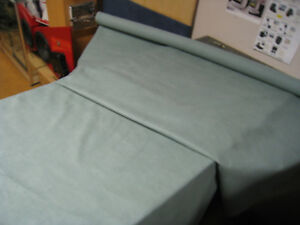 Light Green Aqua Novasuede Leather Suede Alcantara Car Boat Roof Trimming Fabric