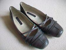Goertz Shoes Ballerinas Gr. 36 Gr. 3  Leder hellgrau