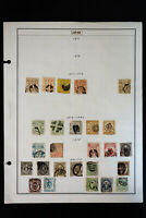 Japan Unsearched Lot of 60 Stamps of the 1800s