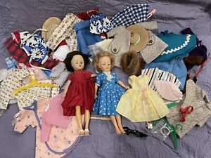 VTG LOT 2 HIGH HEELED Fashion DOLLS With SHOES, CLOTHES, HATS Nancy Ann