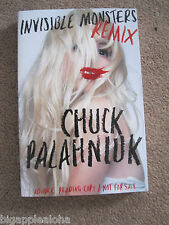 INVISIBLE MONSTERS REMIX by CHUCK PALAHNIUK rare 2011 advance reading copy NEW