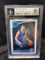 2018-19 Donruss Optic Basketball Luka Doncic Rated Rookie RC BGS 9 #177 Mavs A88