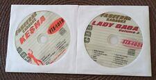 2 CDG KARAOKE DISCS  TEEN POP FEMALE KE$HA & LADY GAGA FTX 1019,1021 MUSIC CD+G