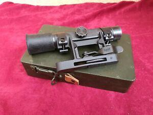 WH LW Holzkiste Optikkasten Behälter für ZF4+Montage Scharfschützen G43 K43 2.WK