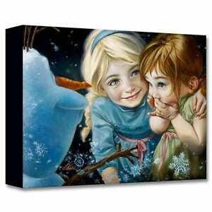 Never Let It Go 12x16 Disney Fine Art Treasures on Canvas by Heather Edwards