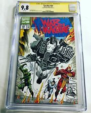 CGC 9.8 SS Iron Man #283 signed by Don Cheadle War Machine Avengers Armor Wars