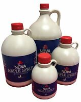 Nova Maple Syrup - Pure Grade A Pennsylvania - Gallon Quart Pint - FREE Shipping