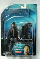Stargate Atlantis Field Ops Sheppard Action Figure PX Previews Exclusive Sealed
