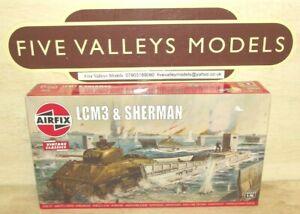 241021/07 Airfix A03301V LCM3 & Sherman 1:76 Scale