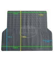 Gummi-Kofferraummatte Kofferraumwanne zuschneidbar 140 cm x 108 cm universal